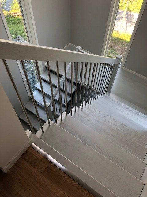 Trappeoppgang Utført av OKS-Tjenester